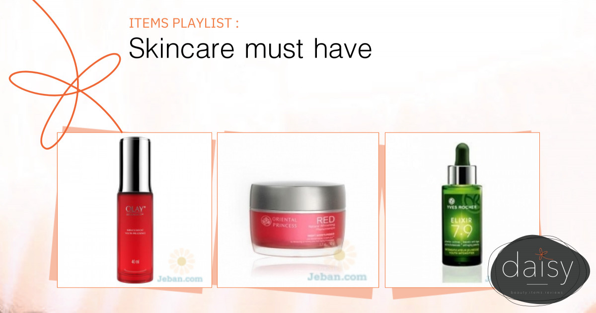 Skincare must have